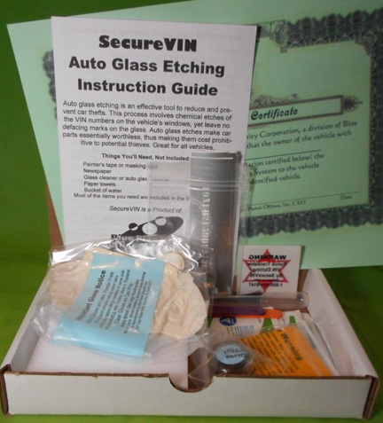 SecureVIN System Photo